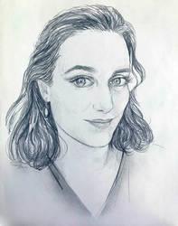 Spadie portrait sketch by SYoshiko
