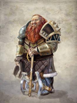 jolly dwarven fighter