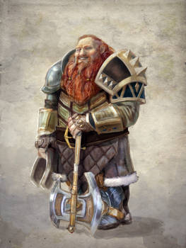 jolly dwarven fighter
