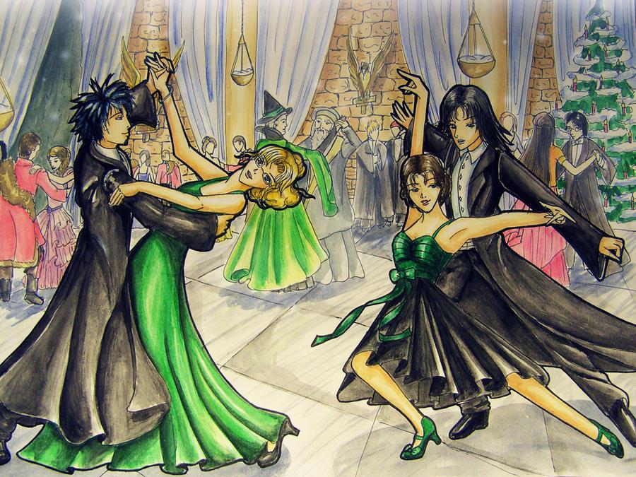 Hogwarts Yule-Ball by Eressea-sama