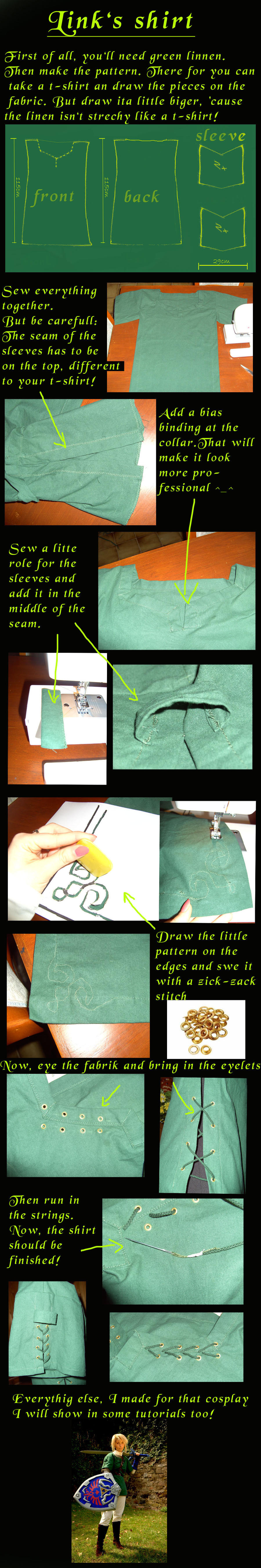 Tutorial, How to: Link's shirt