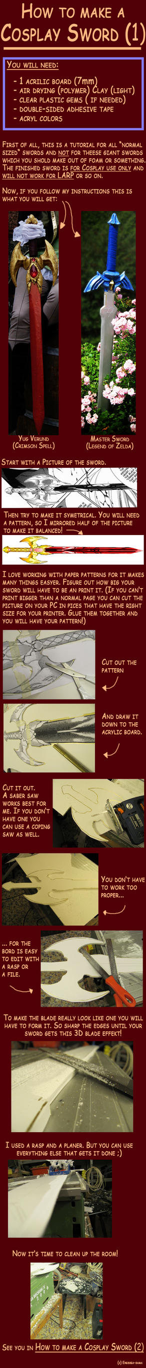 How to make a Cosplay Sword 1 by Eressea-sama