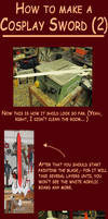 How to make a Cosplay Sword 2 by Eressea-sama