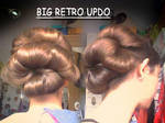 Big Retro Updo