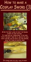 How to make a Cosplay Sword 3 by Eressea-sama
