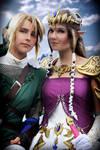 Link + Zelda -Japantag