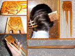 Handmade Hair Fork