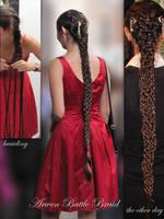 Hair style: Arwen's Battle Braid by Eressea-sama
