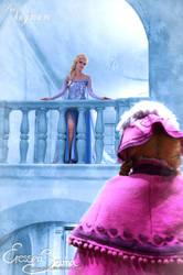 I'm alone but free! - Frozen Cosplay by Eressea-sama