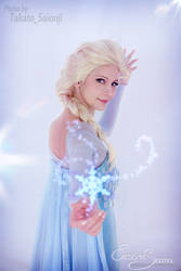 Like frozen fractals - Elsa Cosplay