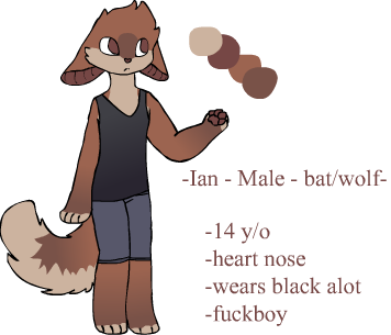 Ian ref -new- by Pastel-Mira