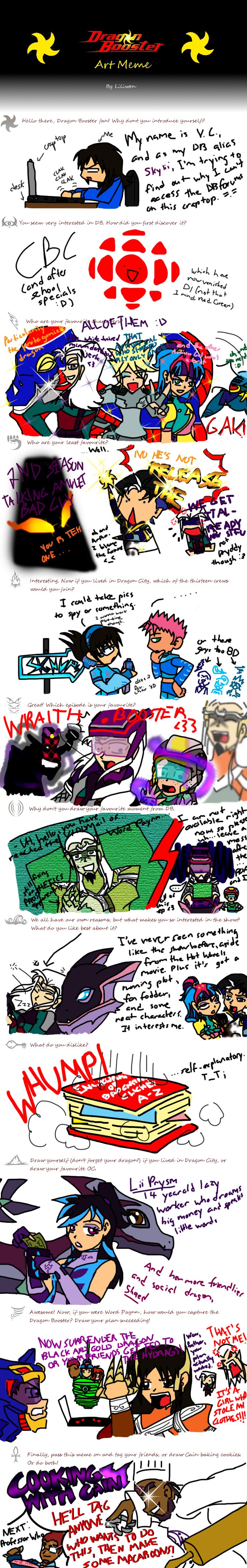 Dragon Booster Art Meme by Cruzerchic123