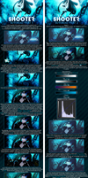 Black Rock Shooter Tutorial: Two Parts by najduk