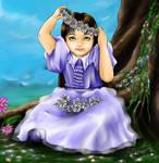 Playing Flower Princess