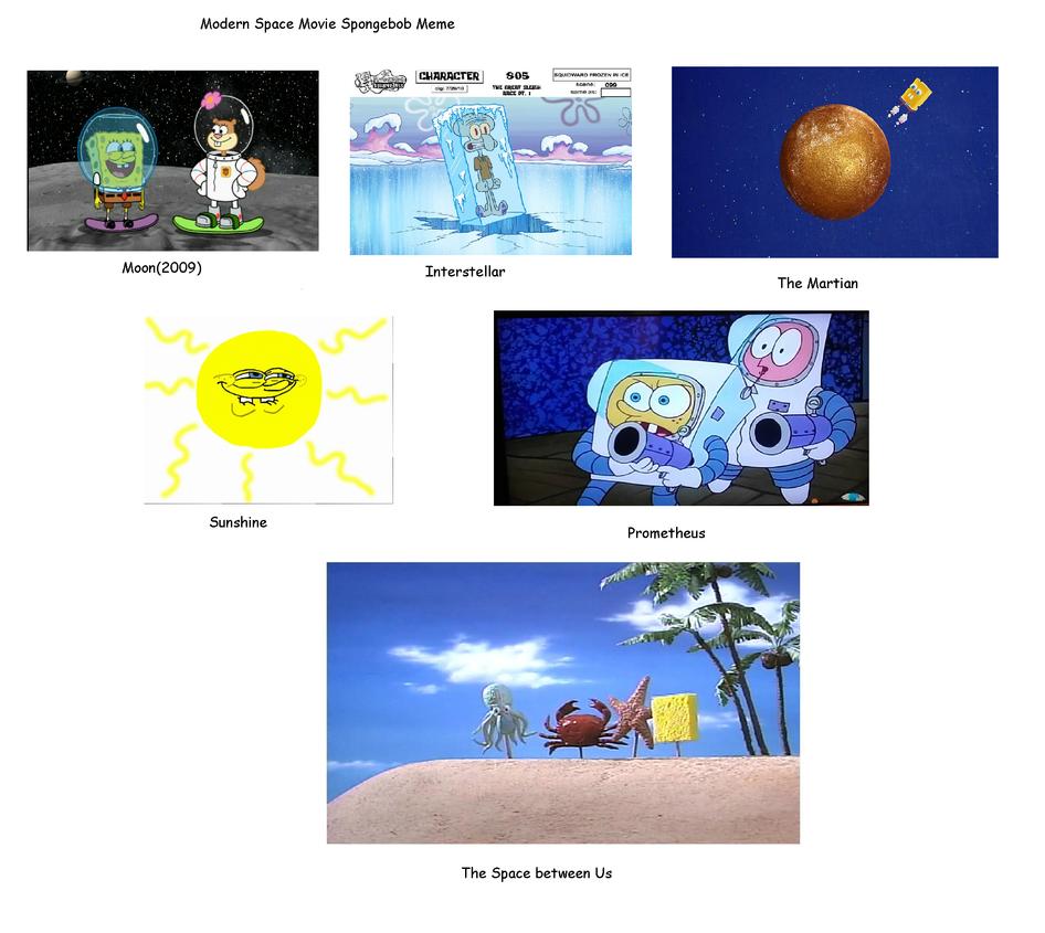 spongebob space movies meme by realdiegoamateur on deviantart