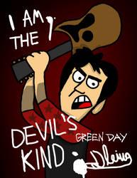 Billie Joe's Guitar Poster