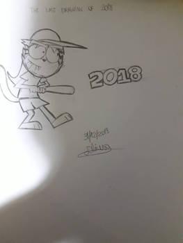 my last drawing of 2018