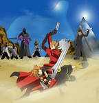 KH - Trigun Part 2 by DeathscytheVII