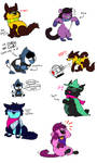 thems some cats right there. [deltarune spoilers]