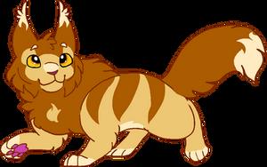 what if lionblaze had a lion face by blackcat498888