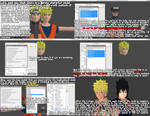 How to make a meshmod for Naruto models(XPS) by MichaelJordy