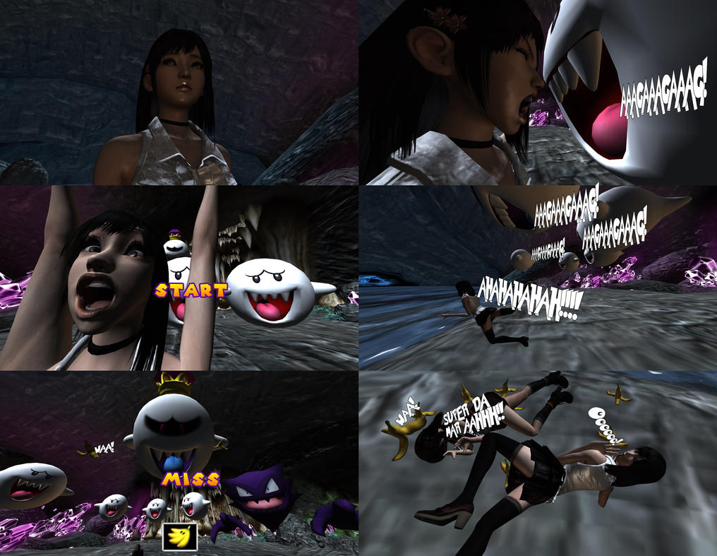 If Fatal Frame\'s own by Nintendo where\'s Boo Ghost by MichaelJordy ...