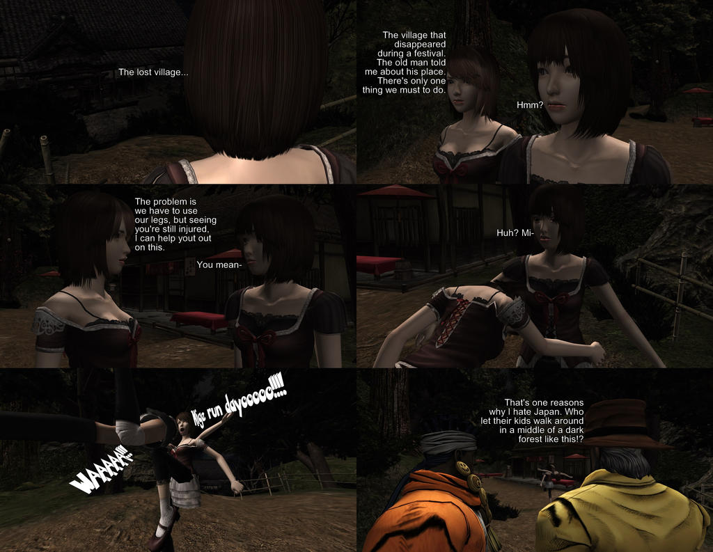 I wish Fatal Frame games could begin like this by MichaelJordy on ...