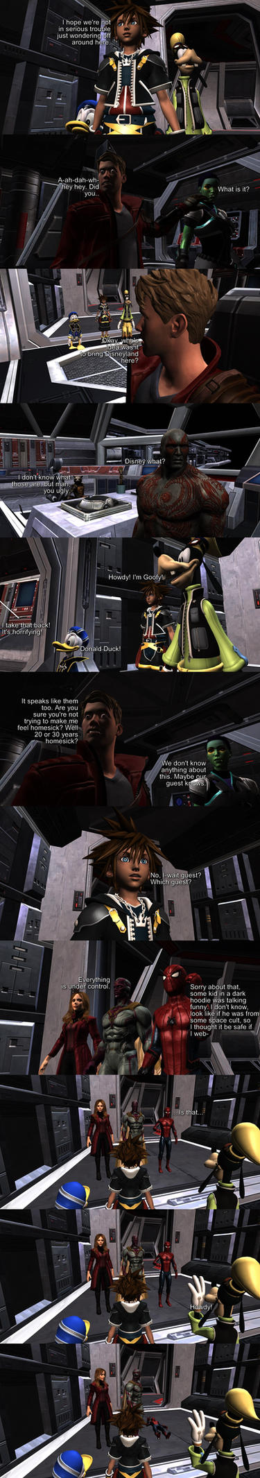 Request #2242 What if KH meets GotG by MichaelJordy
