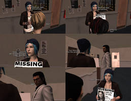Thanks for sharin the missin posters, Chloe by MichaelJordy