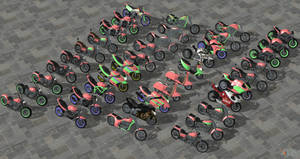 GTA Lost and Damned Motorcycles Reupload