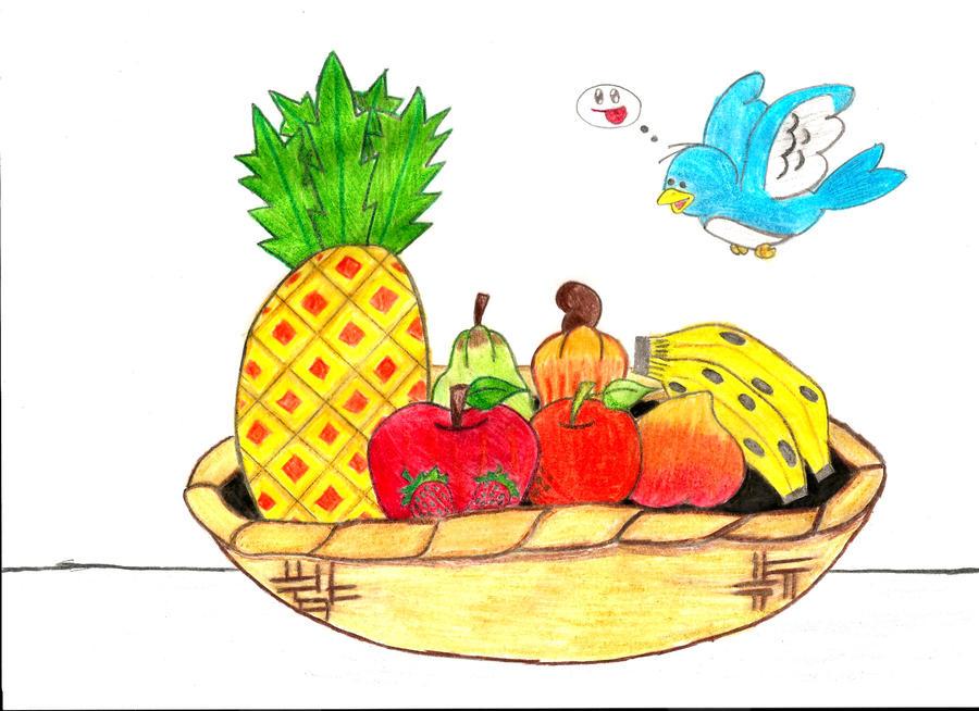 Cesta De Frutas By Andre Lee On DeviantArt