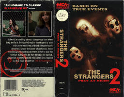 THE STRANGERS: Prey At Night (VHS Version)