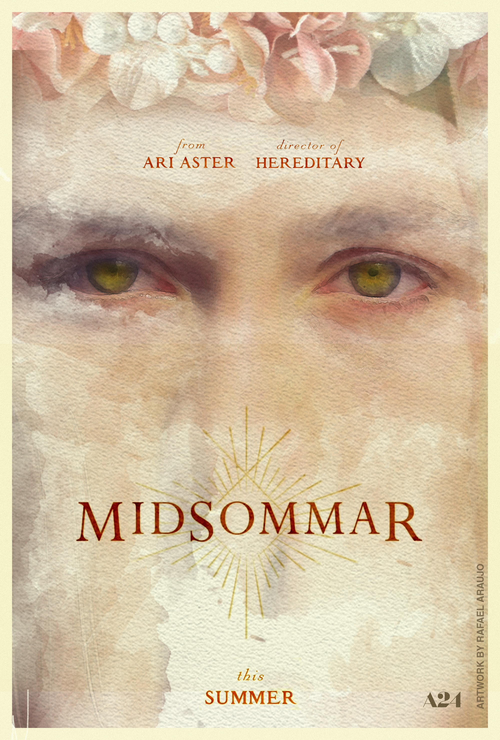 midsommar 2019 ari aster poster 2 by amazingzuckonit