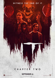 IT CHAPTER TWO (2019) Cast Poster