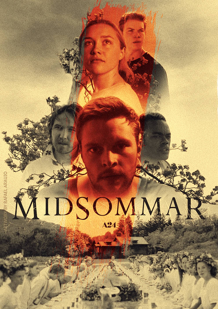 Midsommar (2019) Cast Poster by amazing-zuckonit on DeviantArt