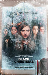 Black Christmas (2019) Cast Poster