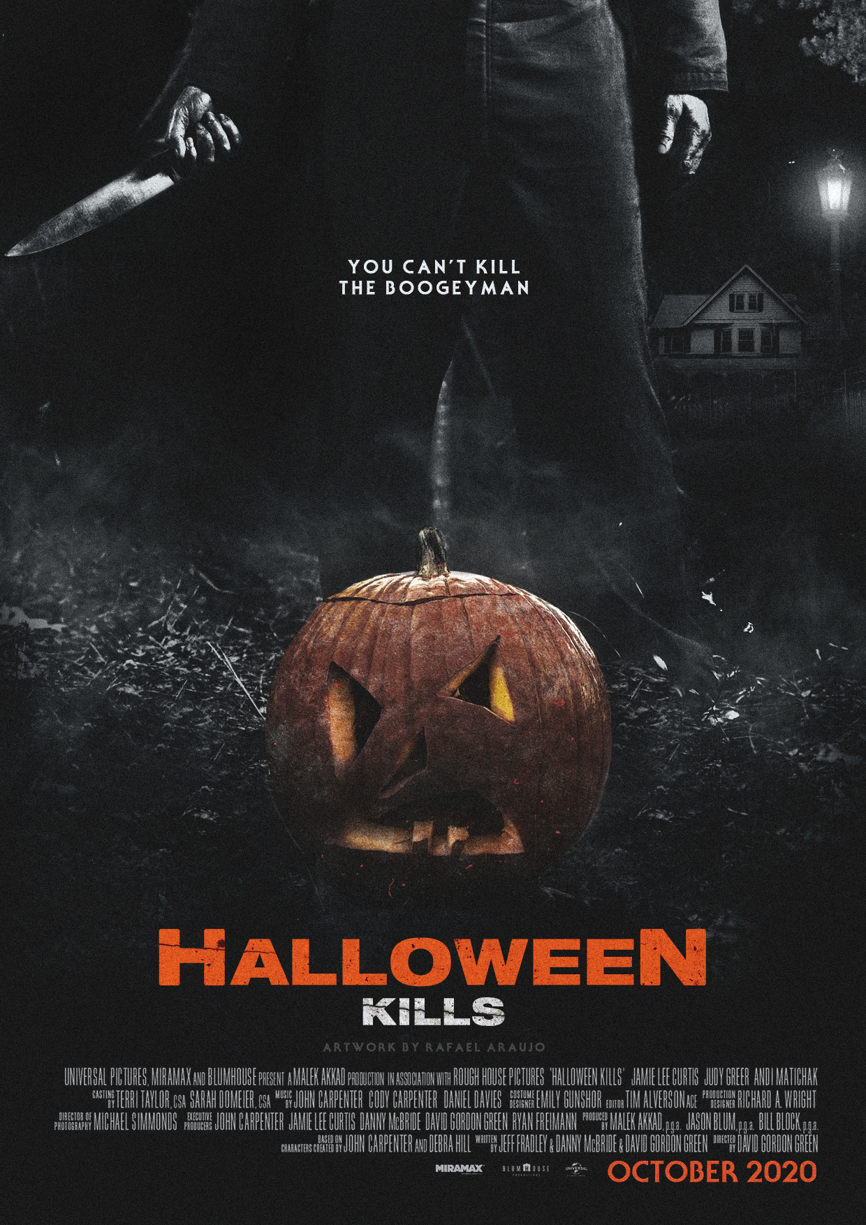 Halloween 2020 Teaster Poster Halloween Kills (2020) Teaser Poster by amazing zuckonit on DeviantArt