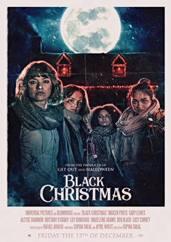 Black Christmas (2019) Cast Poster #2
