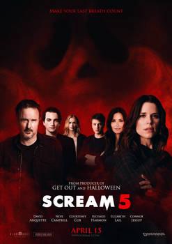 Blumhouse's SCREAM 5 (2021) Concept Poster