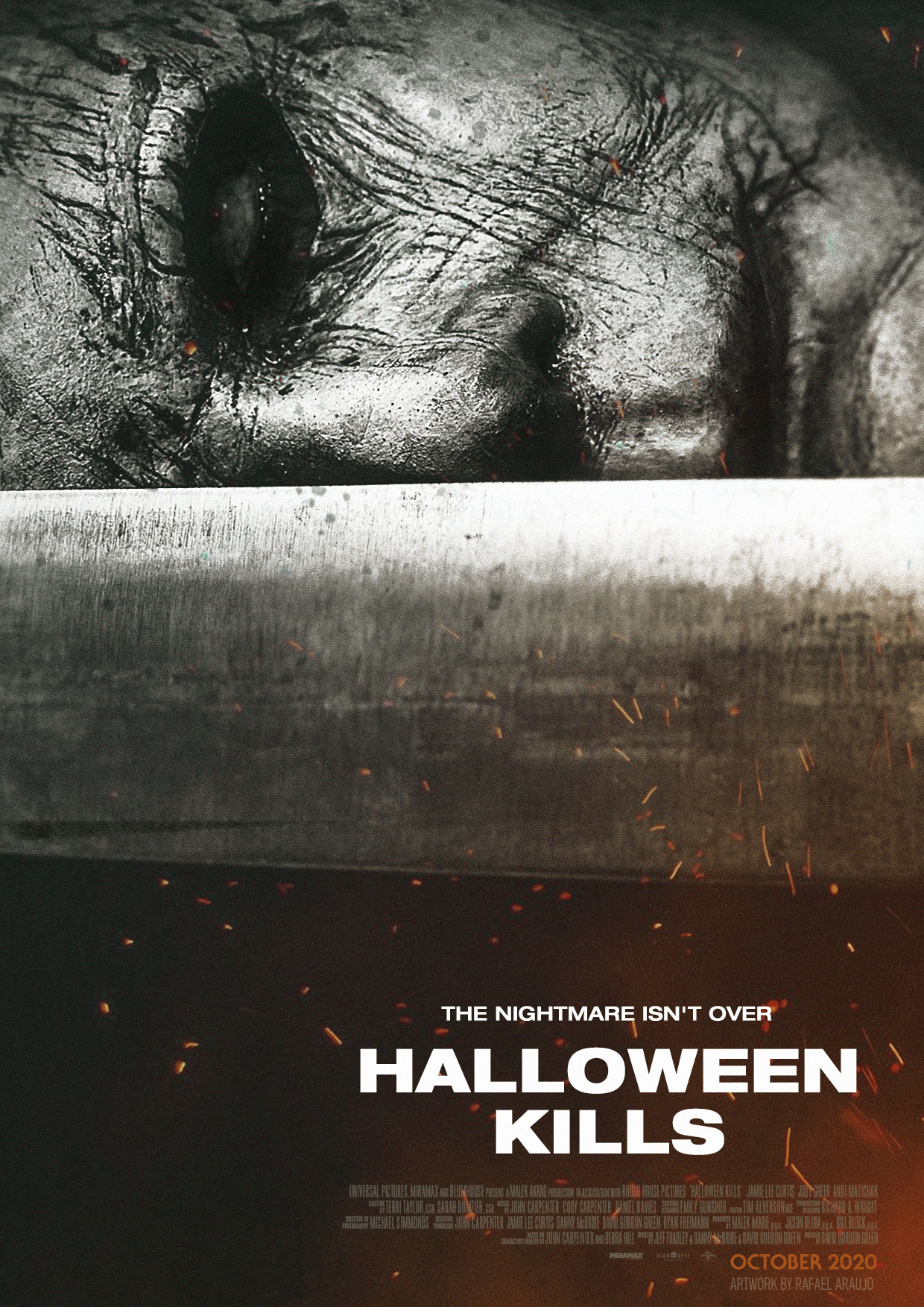 Halloween 2020 Teaster Poster Halloween Kills (2020) Teaser Poster #3 by amazing zuckonit on