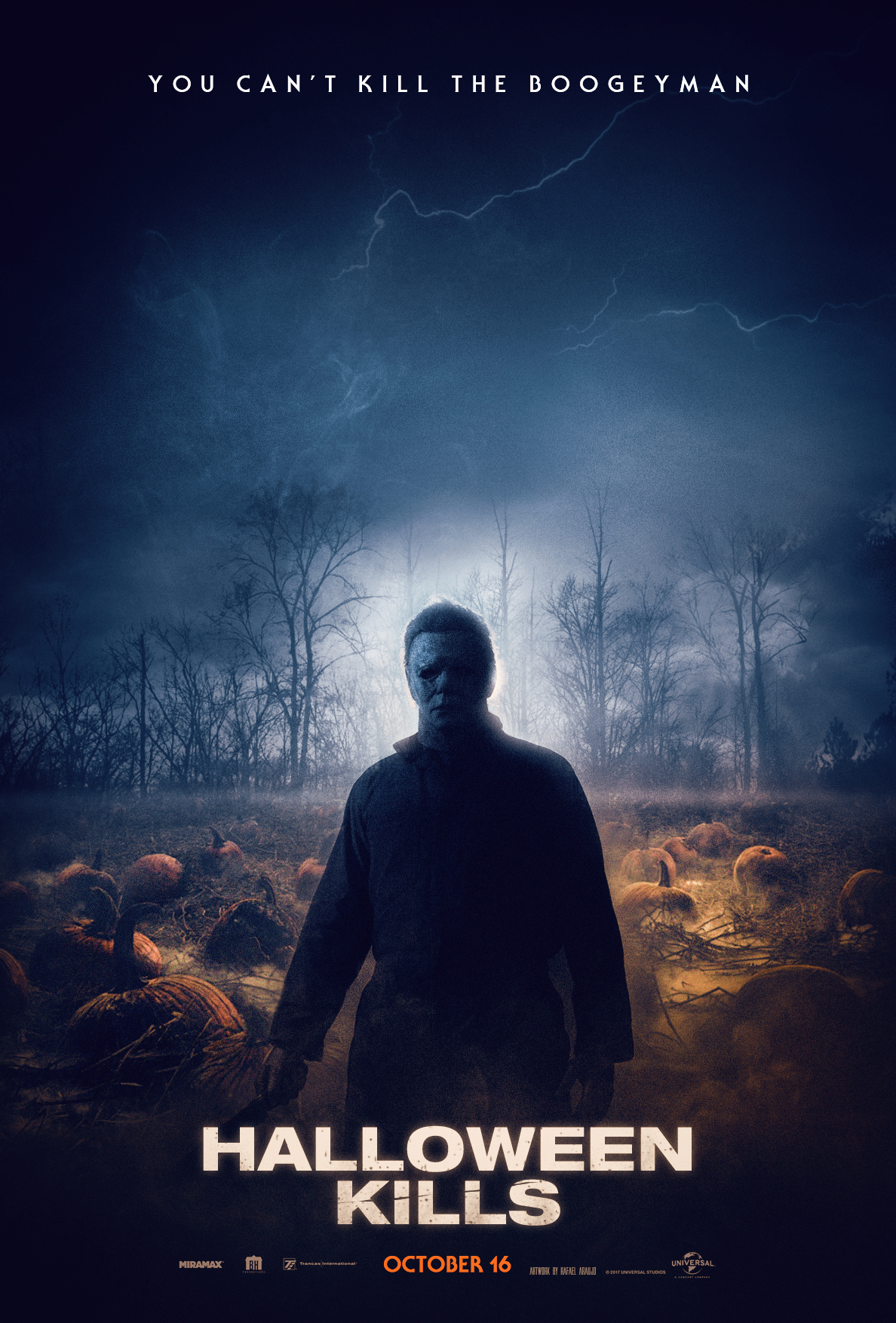 Halloween 2020 Teaster Poster Halloween Kills (2020) Teaser Poster #4 by amazing zuckonit on