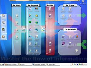 My desktop as an Inf tool