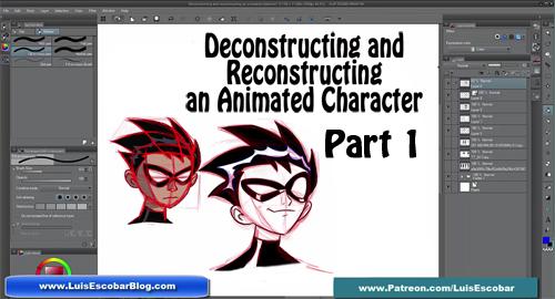 Deconstructing and Reconstructing a Character P1 by LuisEscobar