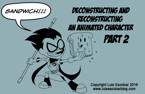 Deconstructing and Reconstructing a Character P.2 by LuisEscobar