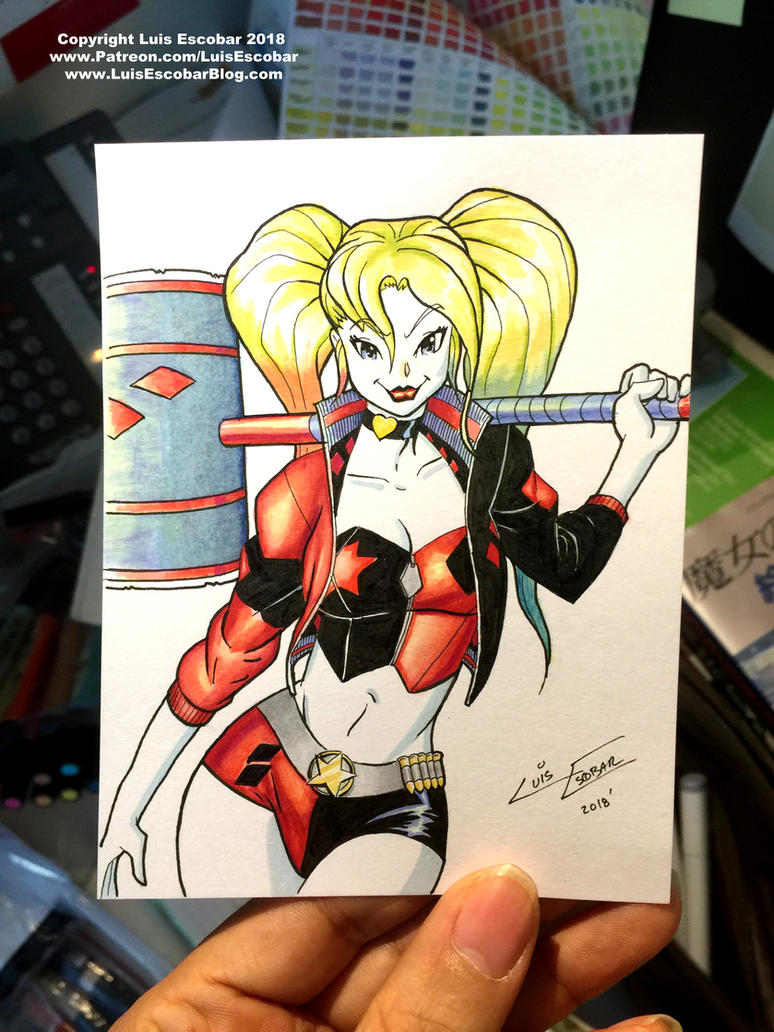 Harley Final Postcard Photo by LuisEscobar