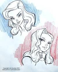 Isabella and Nikon Sketches
