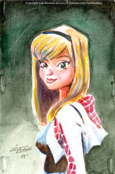 Spider-Gwen Postcard