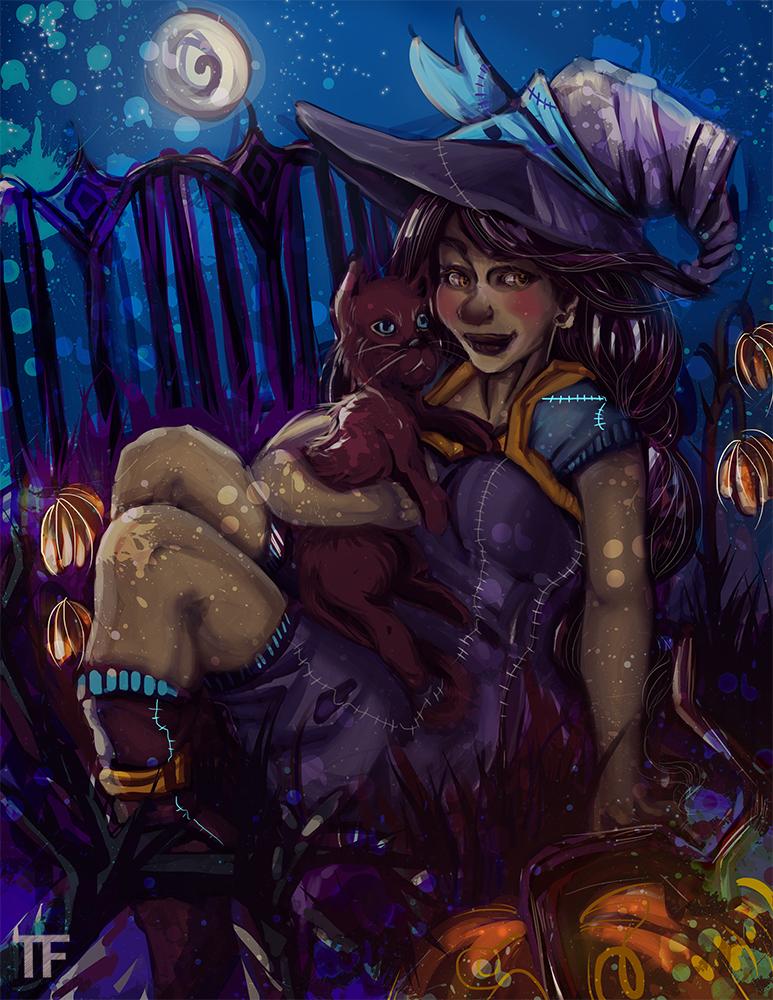 Happy Halloween 2014 by Nini-Syllestial