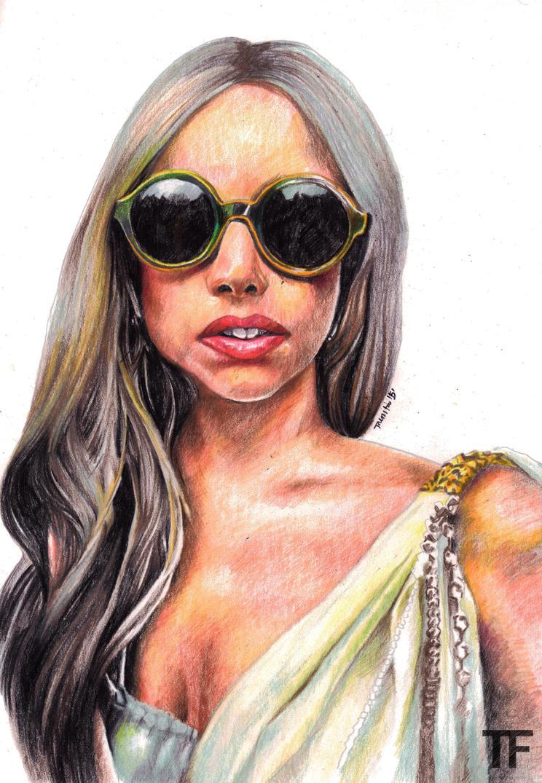 Lady Gaga by Nini-Syllestial