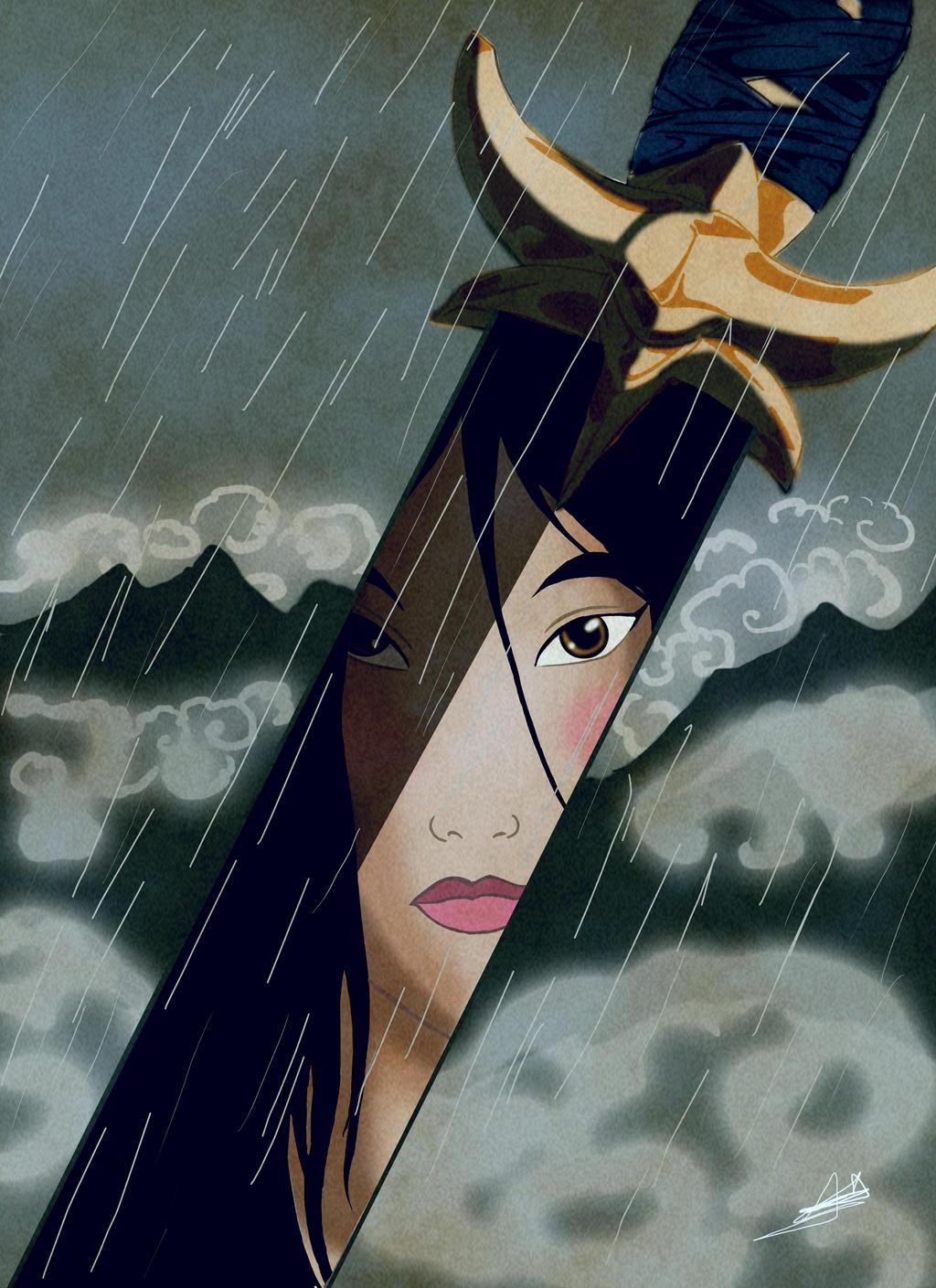 Mulan by DeesseNoire